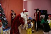 Performances and presents for children prior to holidays