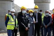 Hayk Marutyan visits sites of roads under construction