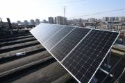 Solar photovoltaic panels placed in 100 buildings in Yerevan